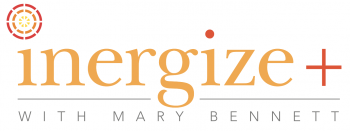Inergize+ with Mary Bennett Logo